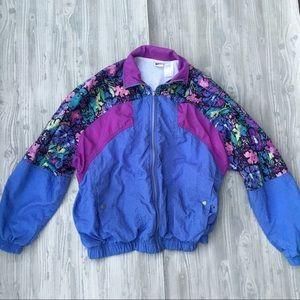 Nike Vintage Floral Running Windbreaker jacket